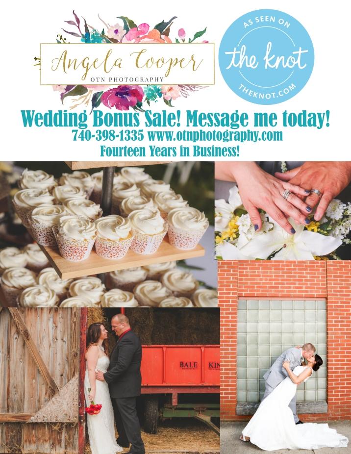 WEDDING BONUS SALE
