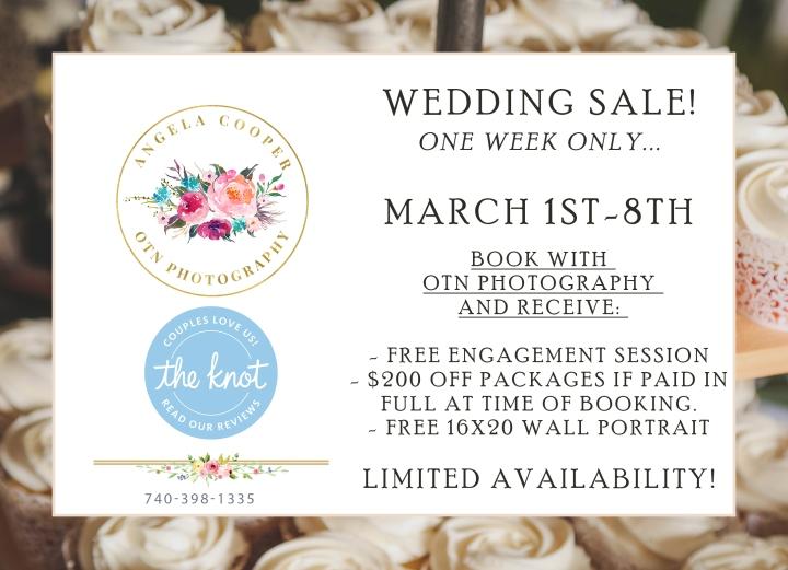 Wedding Sale 2020